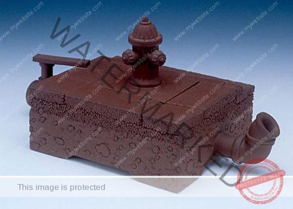 "Richard Notkin (American, b. 1948) ""Curbside Teapot (Yixing Series)"" 1983 stoneware. 3.5 x 7.25 x 3.875"" Photo: Tony Cunha. 1996.1.72"