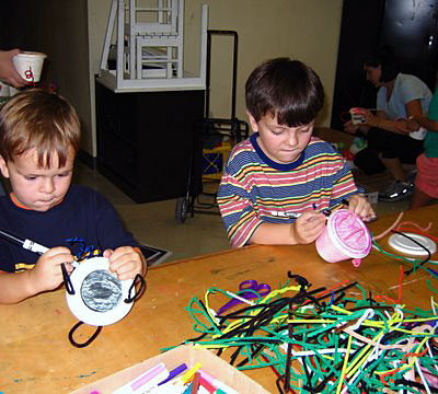 Children Making Teapots