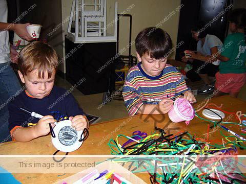 Children Making Teapots