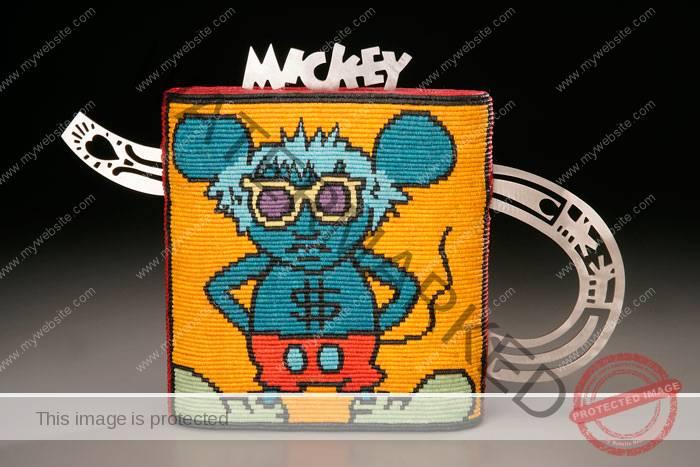 Kate Anderson (American, b. 1953) Warhol-Haring Teapot. Front