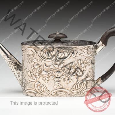 Hester Bateman (British, 1704-1794) Teapot