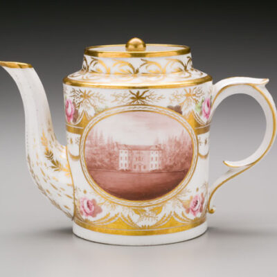 William Billingsley (England) Park Hall Teapot