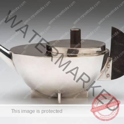 Marianne Brandt (German, 1893-1983) Tea Infuser, Model No. MT 49