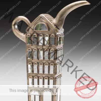Jose Chardiet (American, born Cuban, b. 1956) Providence Silver Teapot