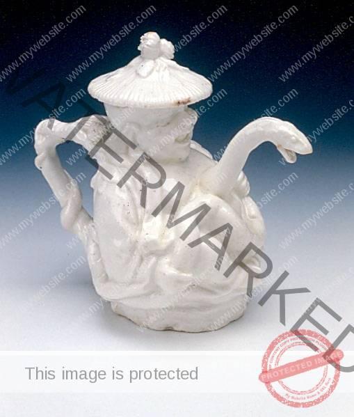 Chelsea Porcelain (England) Chinaman Teapot