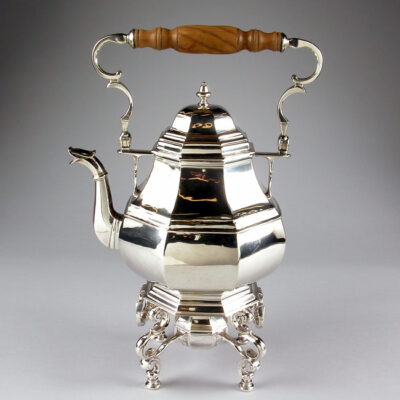 Paul de Lamerie (British, 1688-1751) King George I Tea Kettle