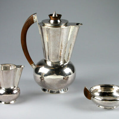 Christian Dell (German, 1893-1974) Coffee Service