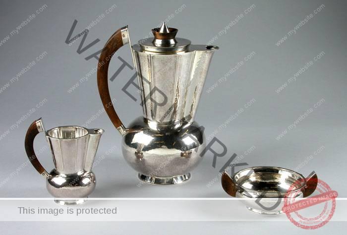 Christian Dell (German, 1893-1974) Coffee Service
