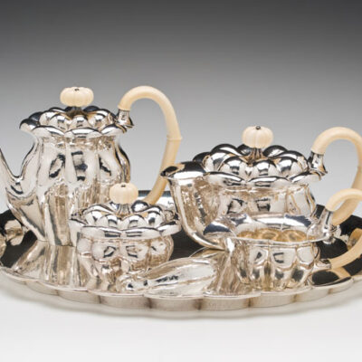 Josef Hoffman (Austrian,1870-1956)/ Wiener Werkstätte (Austria) Tea Service