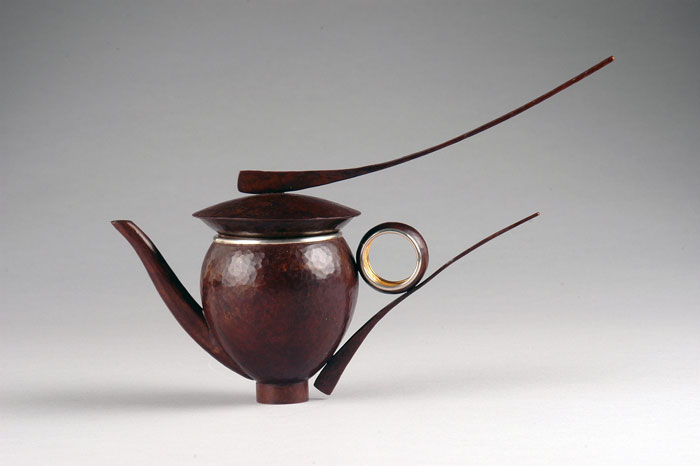 David Huang (American, b. 1971) Single Serving Teapot #463