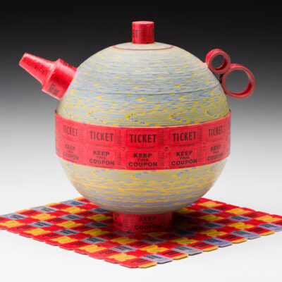 Brian Jewett (American, b. 1957) Ticket Teapot with Mat