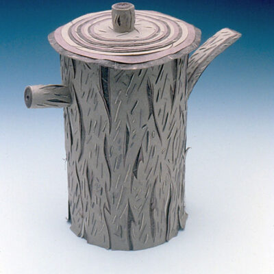 Charlene Johnson (American, b. 1947) Tree Teapot
