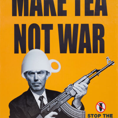 Karmarama Make Tea Not War Poster