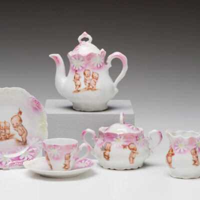 (Germany) Kewpie Tea Set