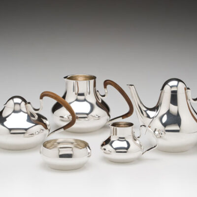 Henning Koppel (Danish, 1918-1981)/ Georg Jensen (Denmark) Tea and Coffee Set
