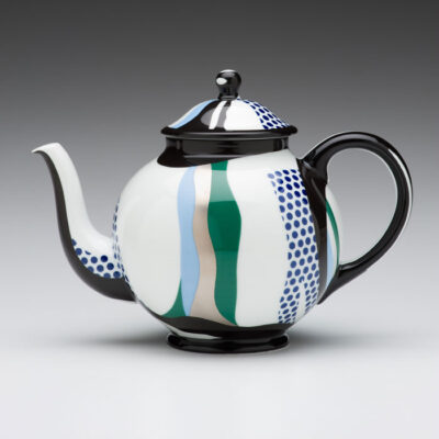 Roy Lichtenstein (American, 1923-1997)/ Rosenthal (Germany) Teapot