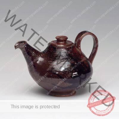 Harvey K. Littleton (American, 1922-2013) Teapot