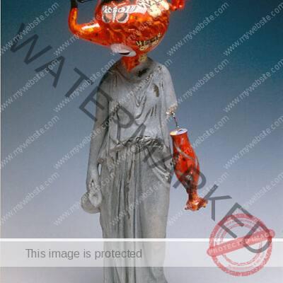 Michael Lucero (American, b. 1953) Female Roman Statue
