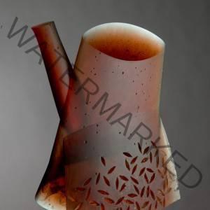 Ivan Mares (Czech, b. 1956) Teapot. Back