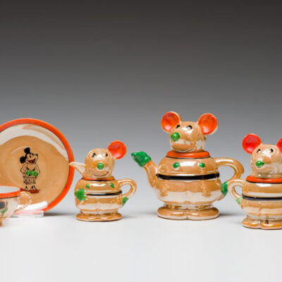 (Japan) Mickey Mouse Tea Set