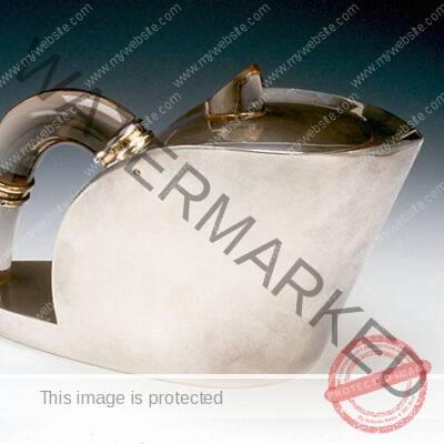 Jean-Emile Puiforcat (French, 1897-1945) Teapot