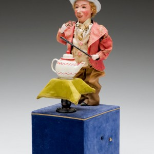 Louis Renou (France) Shrinking Magician Automaton Side View