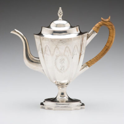 attrib. to Paul Revere (American) William Goddard Teapot