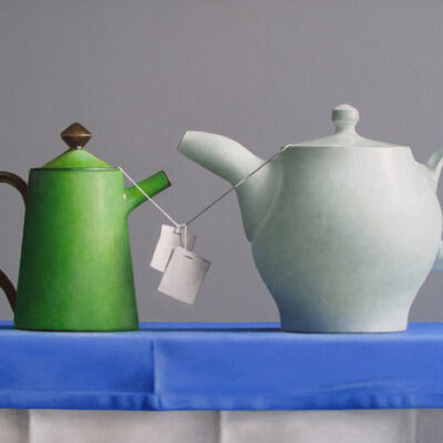 Janet Rickus (American, b. 1949) Teapot Tangle