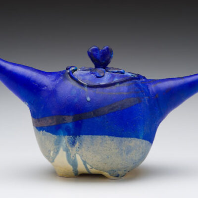 Toshiko Takaezu (American, 1922-2011) Two-Spouted Vessel