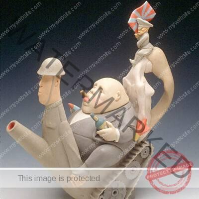 George Walker (British, b. 1930) The Arms Dealer