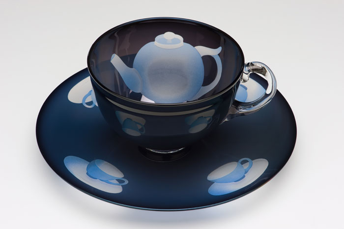 Ann Wolff (German, b. 1937) Cup and Saucer