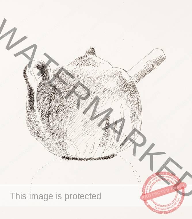 David Hockney Henry's Teapot