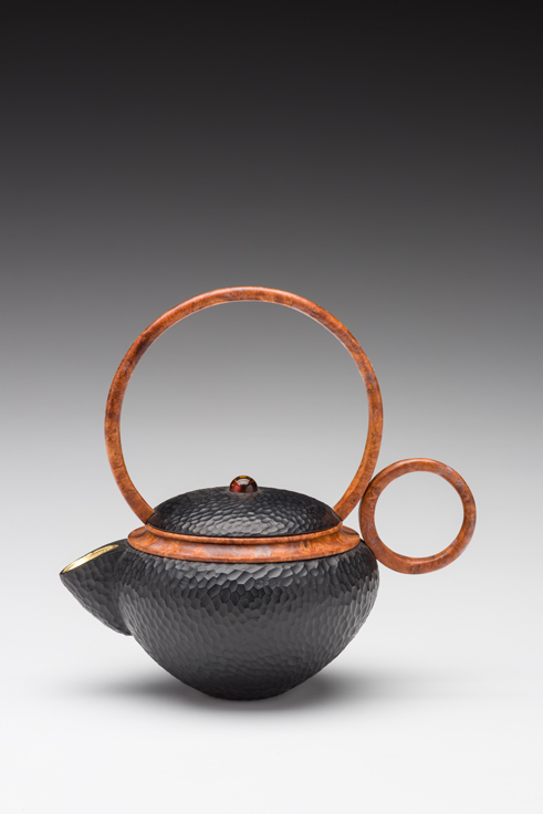 Jacques Vesery pear wood teapot