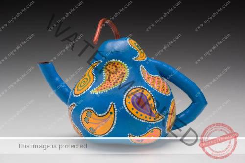 Dianne Masi Gourd Teapot