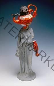 "Michael Lucero (American, b. 1953) ""Female Roman Statue"""