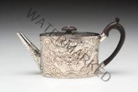 Hester Bateman, silver teapot.