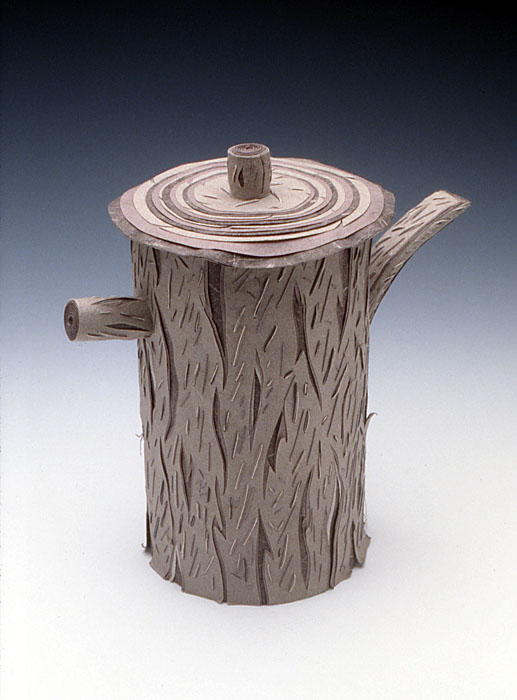 Charlene Johnson Tree Teapot