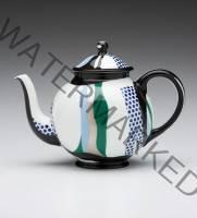 Roy Lichtenstein Teapot porcelain