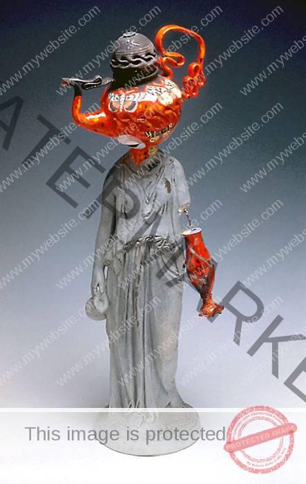 Michael Lucero statue