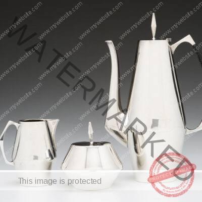 John Prip / Reed & Barton. Diamond Coffee Set