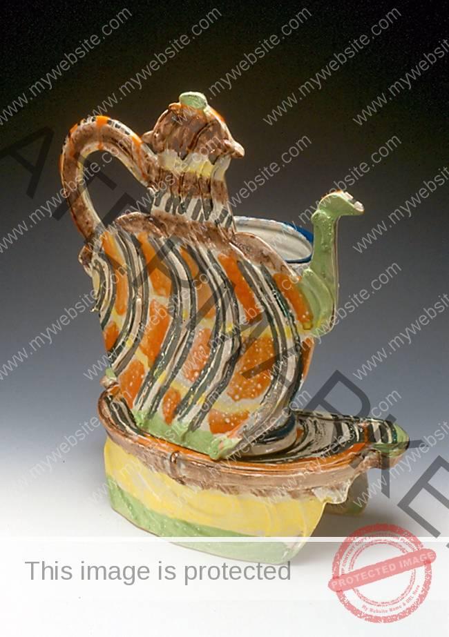 betty woodman teapot sculpture
