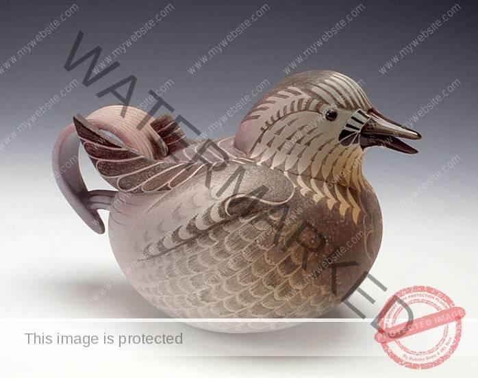 Annette Corcoran gray bird