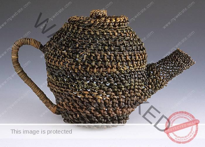 Jan Hopkins Samurai Teapot
