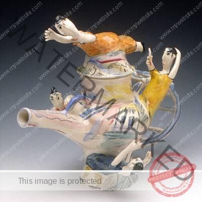 Julia Kirillova Teapot Sculpture