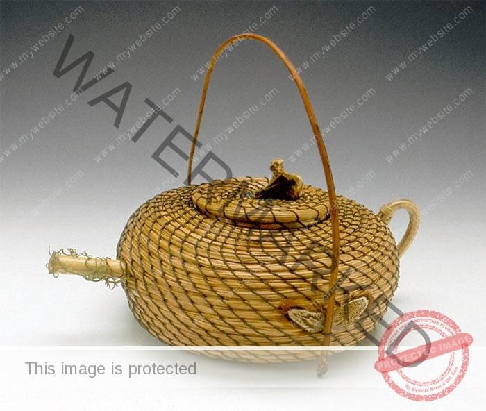 Nadine Spier Torrey Pine Needle Teapot