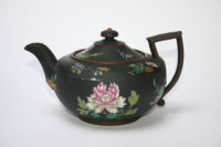 Josiah Wedgwood & Co. (England). Teapot with Floral Design, ca. 1820. Enameled stoneware. Kamm Collection 2005.114.25