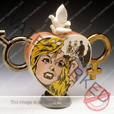 Paul Cardew, ceramic, Romance Teapot