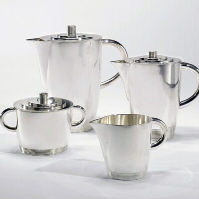 Lurelle Van Arsdale Guild Silver Tea Set