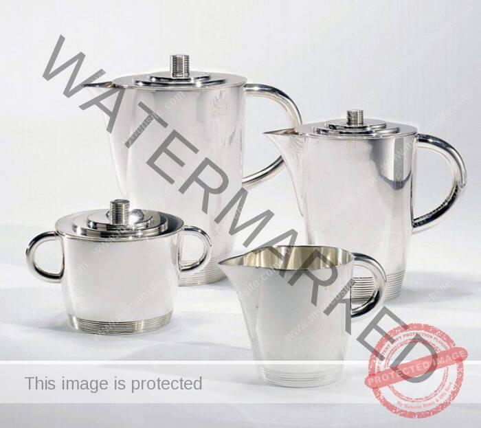 Lurelle Van Arsdale Guild Silver Tea Set
