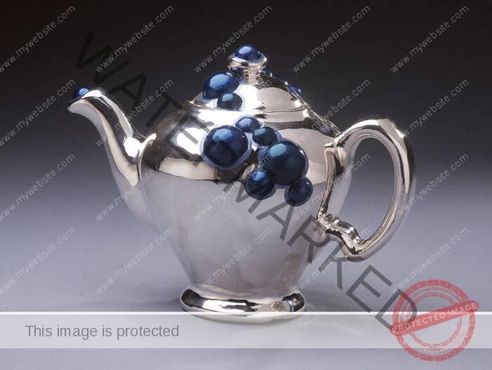Katherine Ingraham, silver, teapot